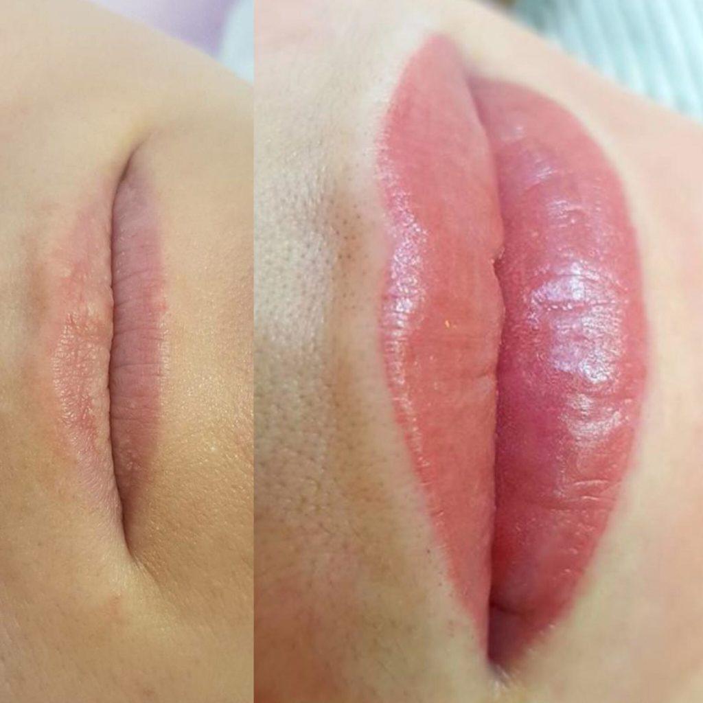 tatuaggio delle labbra